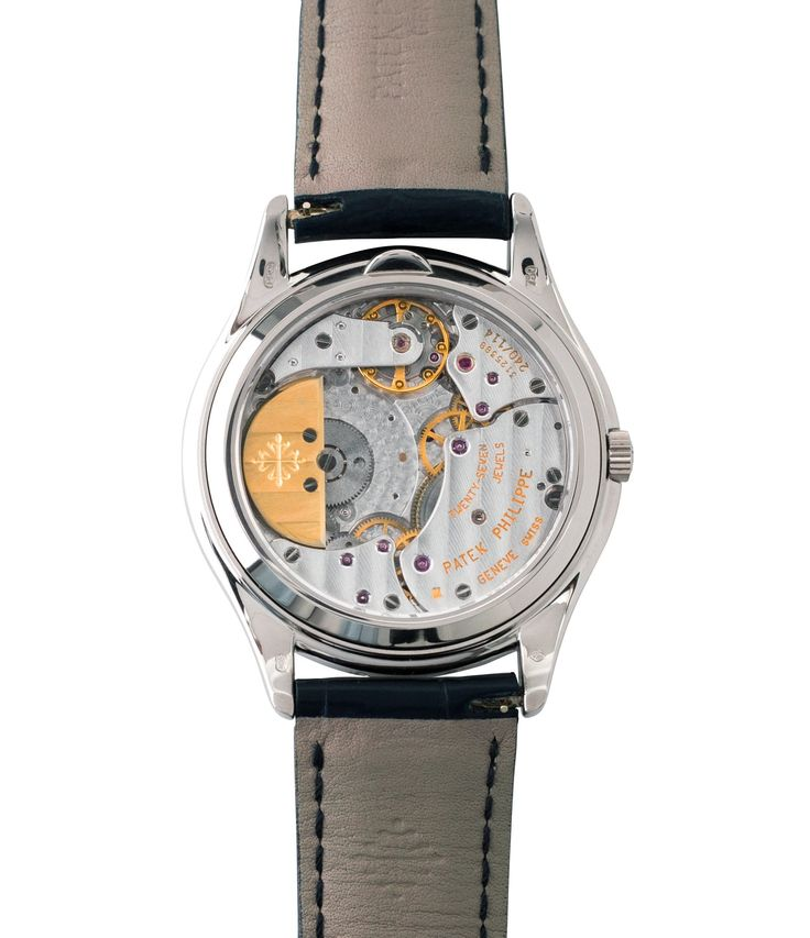 240 Q automatic Patek Philippe 3940G-017 Perpetual Calendar Moonphase white gold rare watch German dial at A Collected Man London