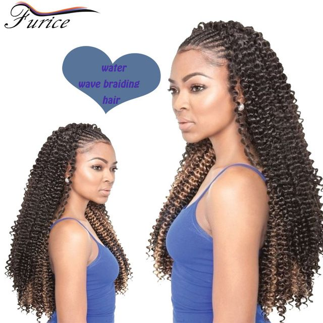 59 best water wave hair extensions images on pinterest wave hair 18 inch short curly crochet braid hair extensions 90gset freetress synthetic water wave crochet ccuart Gallery