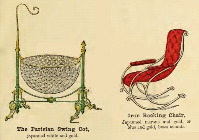 a classic cradle from the Victorian era.