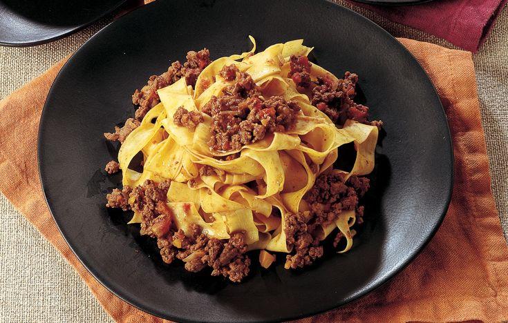 Ricetta Pappardelle al ragù di cervo - Le ricette de La Cucina Italiana