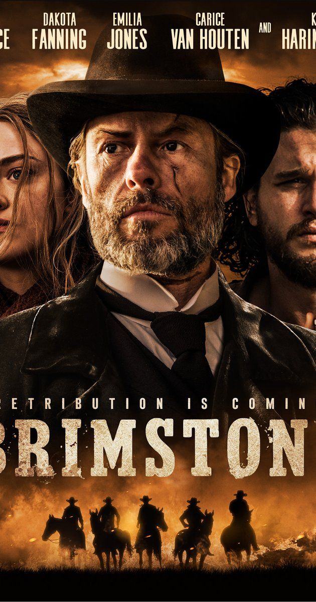 Directed by Martin Koolhoven.  With Dakota Fanning, Kit Harington, Carice van Houten, Guy Pearce. From the moment the new reverend climbs the pulpit, Liz knows she and her family are in great danger.