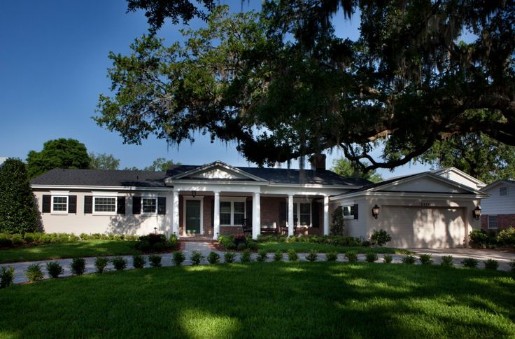 Remodeling 1970 Ranch Style Home | Exterior Home Renovation Projects | Jonathan McGrath Construction