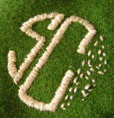 wool monogramming