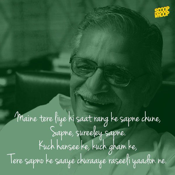 The many colours of Gulzar.