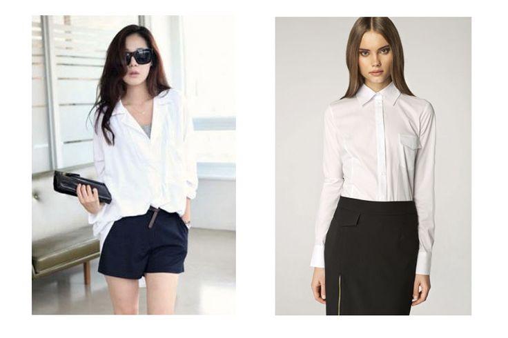 białe koszule damskie - Szukaj w Google