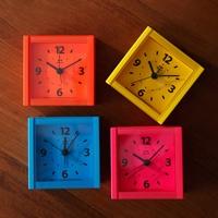 置時計 目覚まし時計 BRUNOブルーノ ネオンカラー アラームクロック オレンジ BCR002-OR 置き時計 目覚し時計 citynet