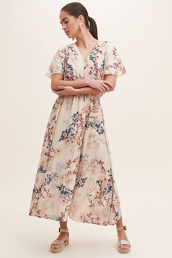 a7e596cf663660 Filuca Floral-Print Wrap Dress in 2019 | The Occasion Dress Edit | Dresses,  Wrap dress, Print wrap