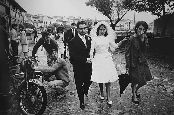 Just married, Cadaques 1955