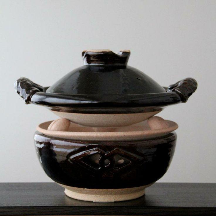 土楽の土鍋が入荷しましたの画像:うつわ京都やまほん