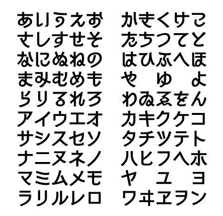 フォント910のフリーフォント「シネマゴシックかな」 FREEフォントケンサク