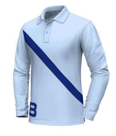 Blue Polo shirt in 100% cotton http://www.tailor4less.com/en-us/collections/custom-polo-shirts/long-sleeve-polo-shirts/polo-shirt-in-100-cotton