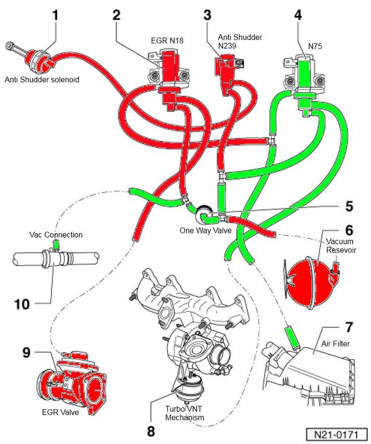 PD vac line simplification (N18 + N239 valve delete)