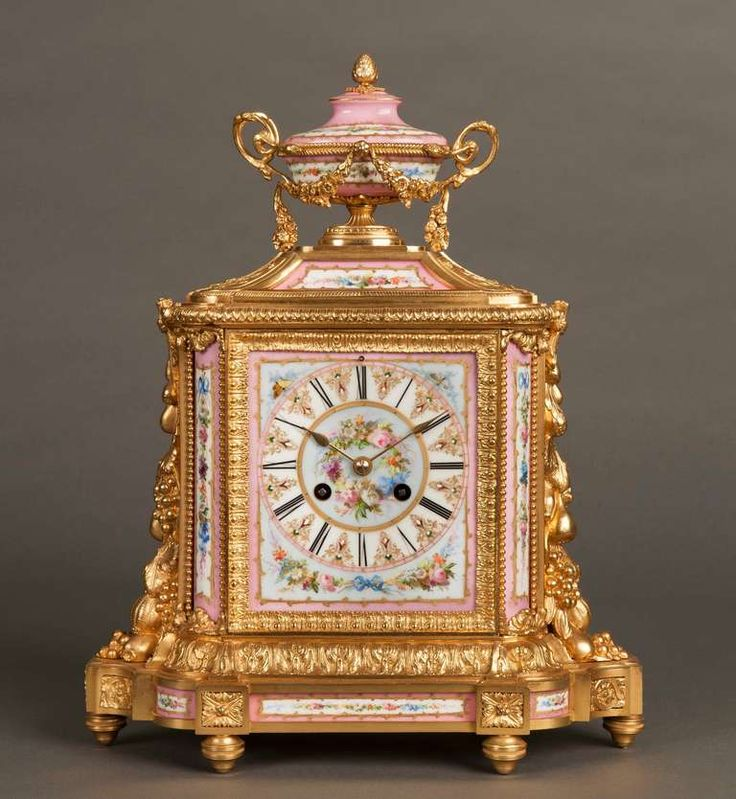 An Antique Mantle Clock at 1stdibs