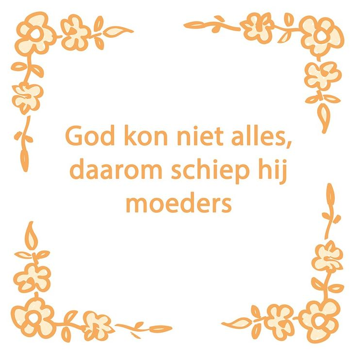Tegeltjeswijsheid.nl - een uniek presentje - God kon niet alles