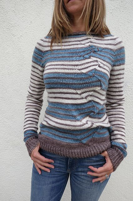 Ravelry: Project Gallery for stripes with a twist pattern by atelier alfa