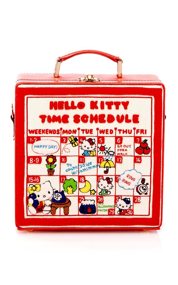 Time Schedule 7-Inch Handbag by Olympia Le-Tan - Preorder now on Moda Operandi