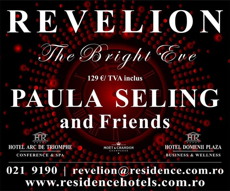 Revelion 2015 at RESIDENCE HOTELS.