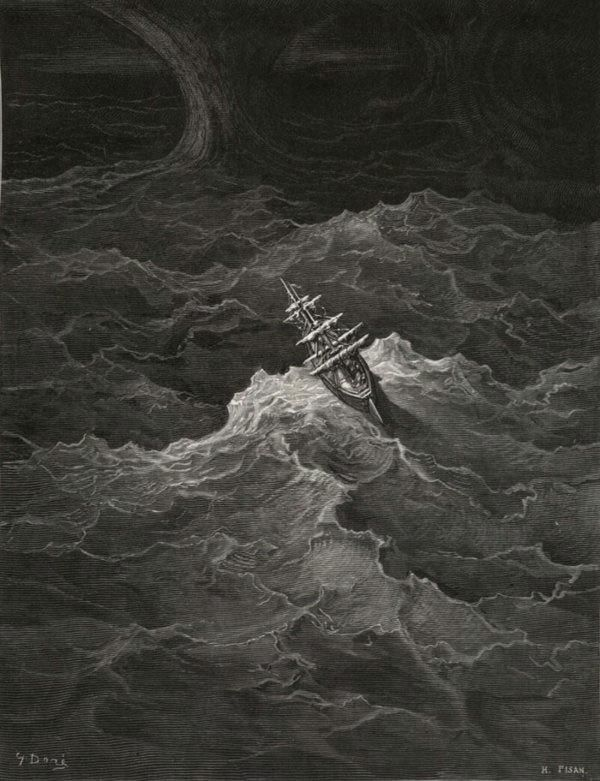 The Rime of the Ancient Mariner by Samuel Taylor Coleridge Illustrated by Gustave Dorè