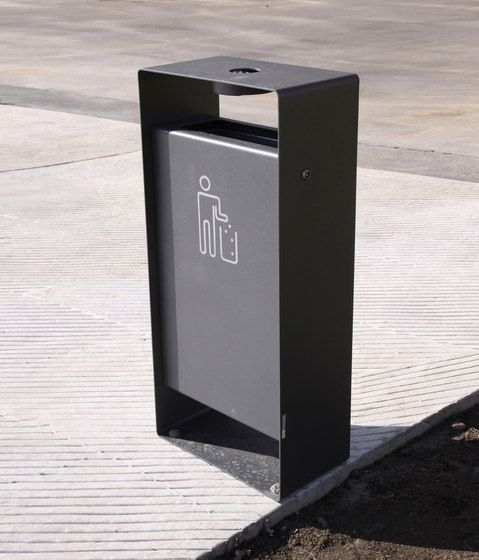 Exterior bins | Street furniture | radium | mmcité | David. Check it out on Architonic