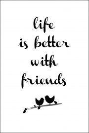A friend is a friend is a friend.