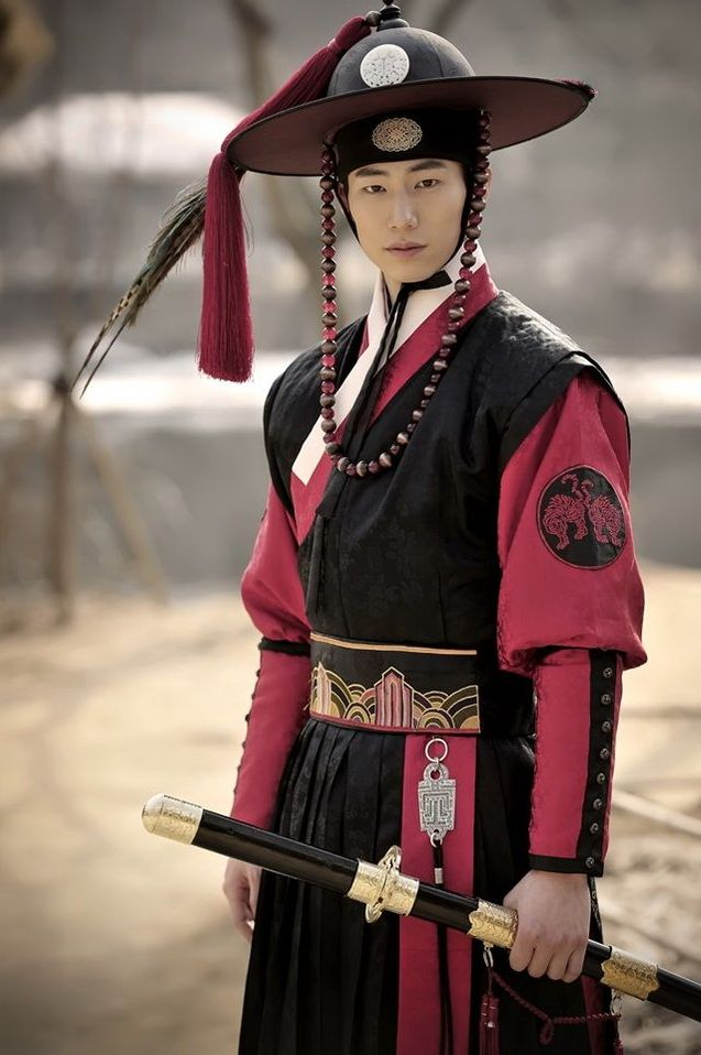 "Song Jae Rim Role as Woon in ""The Moon That Embraces The Sun"""