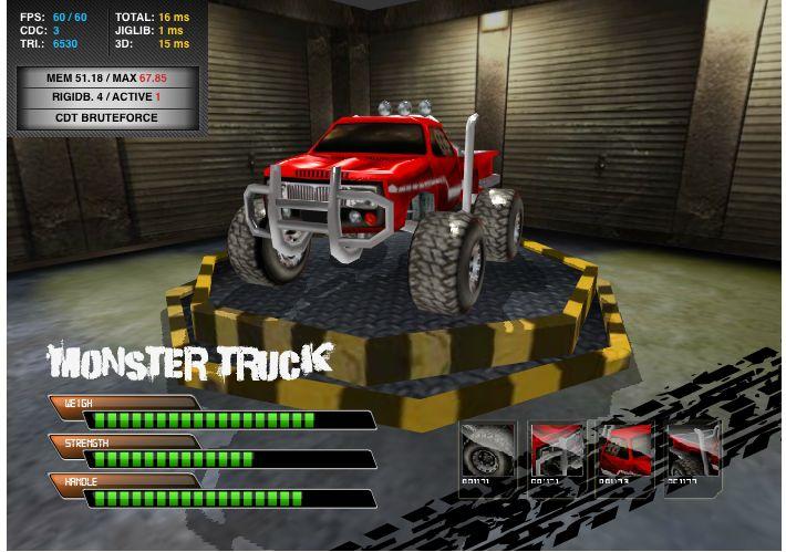 Play Free Online Monster Truck Games Online