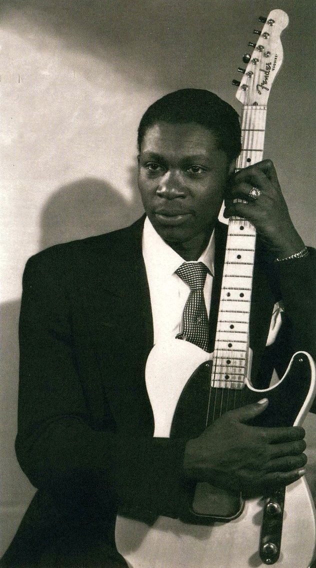 """BB King and Telecaster. """