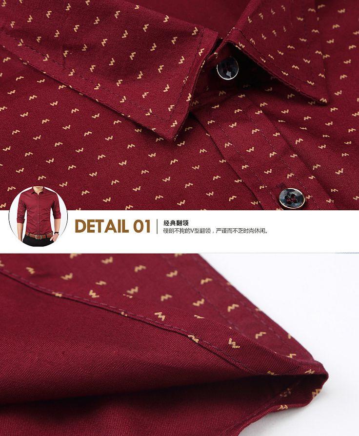 Aliexpress.com : Buy 2015 New Arrival Autumn Brand Dress Men Shirt Long Sleeve…