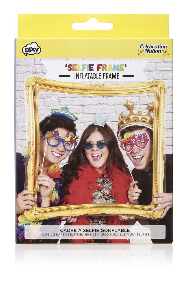 Inflatable PVC Photo Booth Selfie Frame Prop Party Teens Childen Family Toy