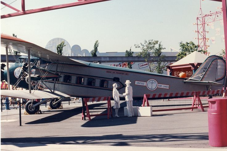 Boeing Model 80, Expo 86, Vancouver BC