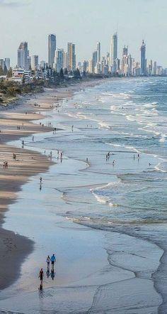 Australia Travel Inspiration - Gold Coast, Queensland, Australia