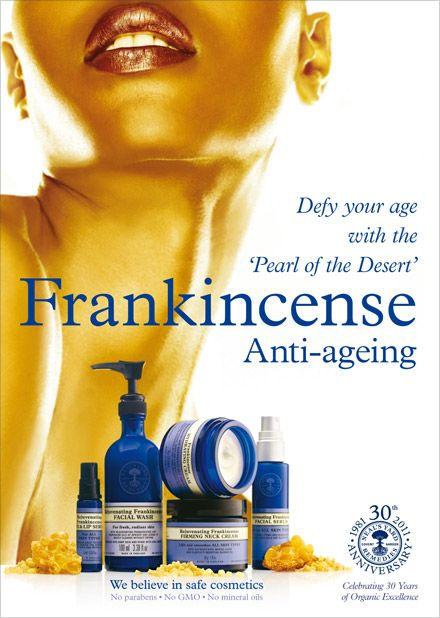 As the modern day pioneers of Frankincense skincare, people have come to know Neal's Yard Remedies as the 'Home of Frankincense'.