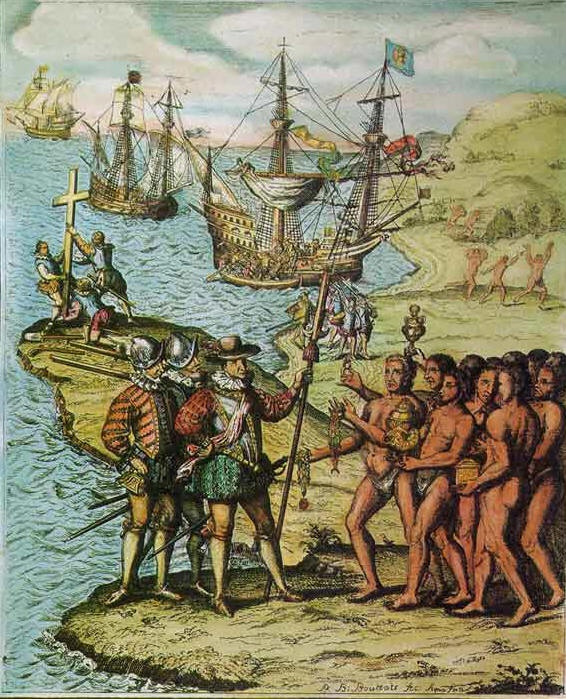 columbus and indians During columbus time in haiti, he and his men hunted the taino indians for sport, beating, raping, torturing, killing, and then using the indian.