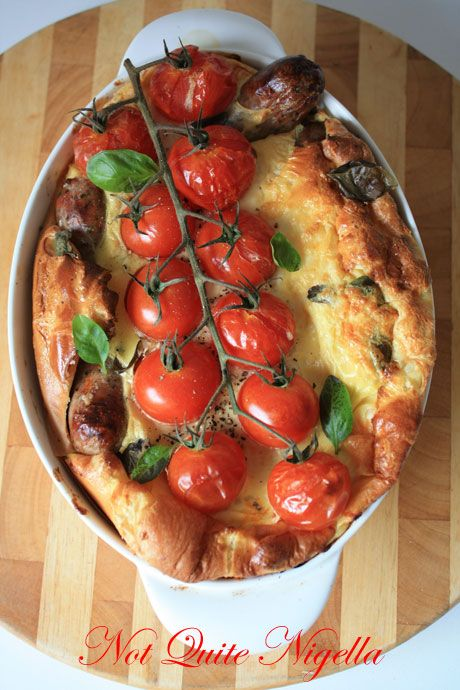 Italian Toad in the Hole. | Breakfast ideas | Pinterest