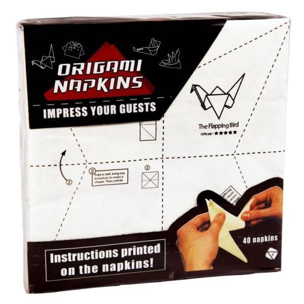 Serwetki origami / Origami napkins