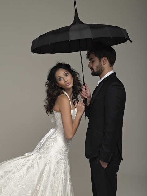 Gown by Arwen Garmentry and Grooms wear by Naked Ape. Wedding Inspirations Winter 2012 (June)