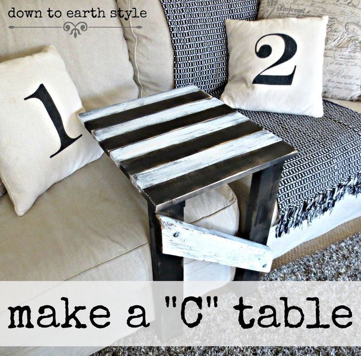 Down To Earth Style: Make A Sofa