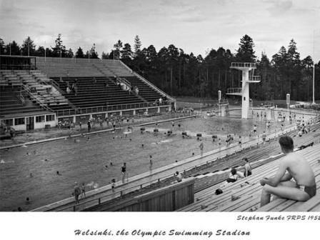 The Olympic Swimming Stadium Helsinki 1952