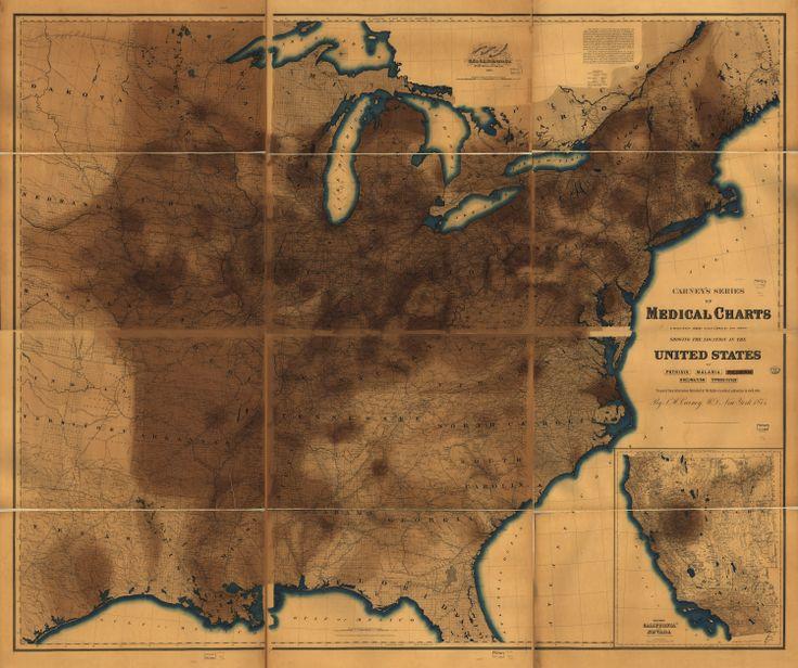 Best Medical Maps Images On Pinterest Medical Black Death - Pneumonia us map