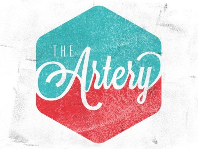 The Artery, designed by Ryan Lee. Great typography, edges, and color scheme.