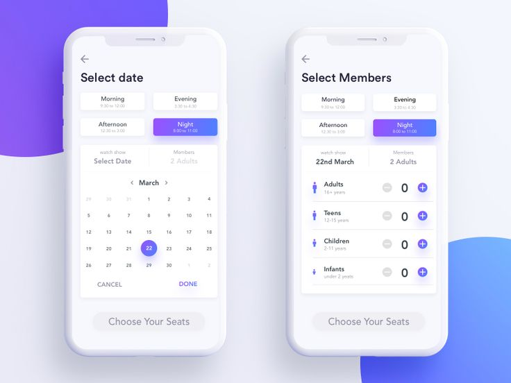 Select data and members by Johny vino™ - Dribbble