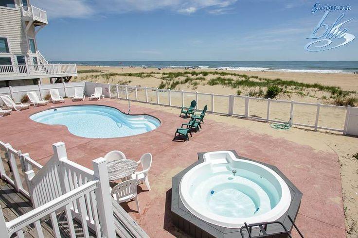 Sandbridge Blue property Mermaid Inn is a charming, 6 bedroom, oceanfront home. July weeks now on special!