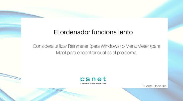 #CSnet #Consejos #PC