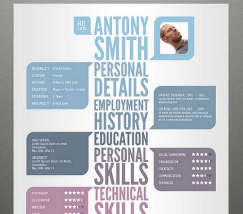 Free Creative Resume Templates 23 Best Resume Templates Free Images On Pinterest  Free Creative