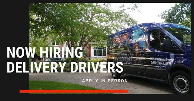 Now Hiring Delivery Drivers Do You Have Previous Delivery