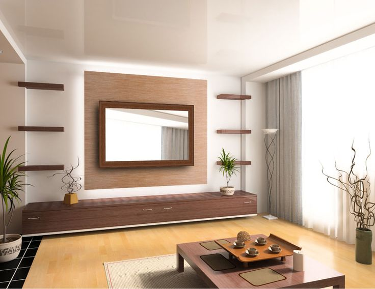 Custom mirror to conceal a flatscreen. Shouldn't look like this - this is just a placeholder picture