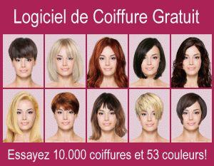 Coiffures virtuelles - Logiciel coiffure