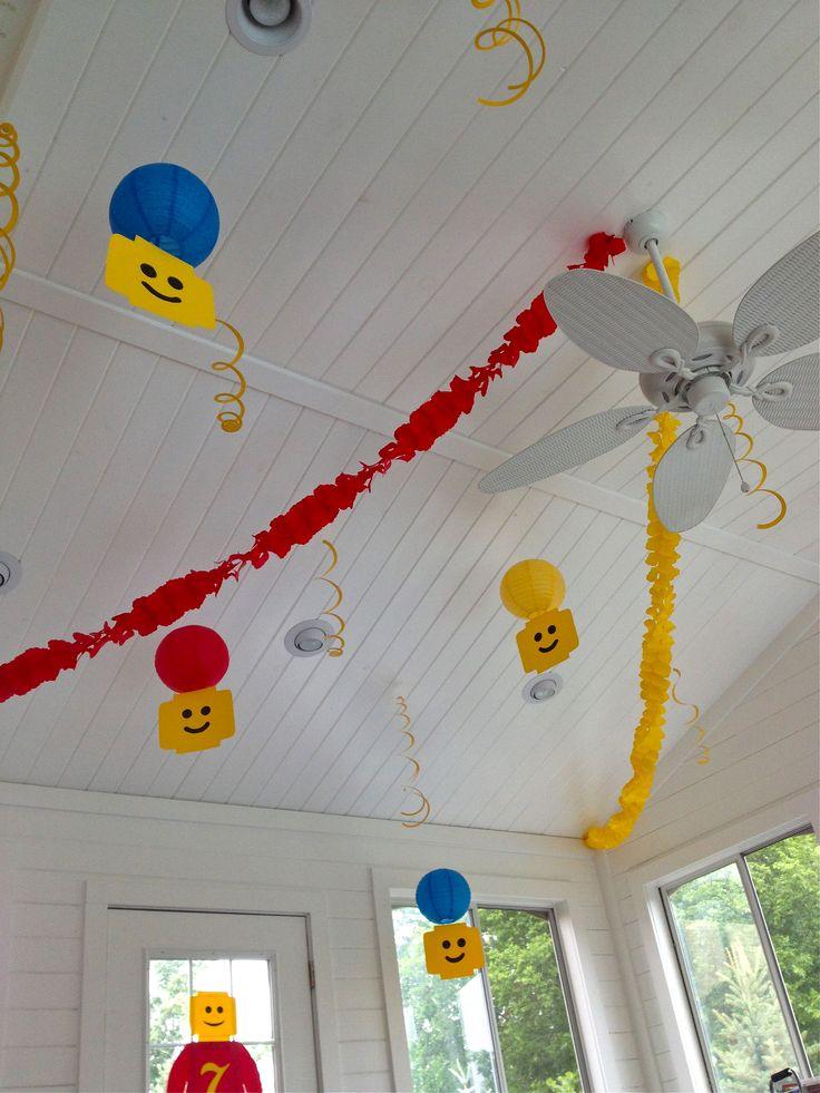Diy lego party decoration ideas for Lego diy