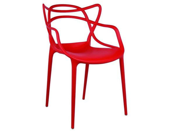 Philippe Starck Masters Chair Replica - Red I Newell Furniture