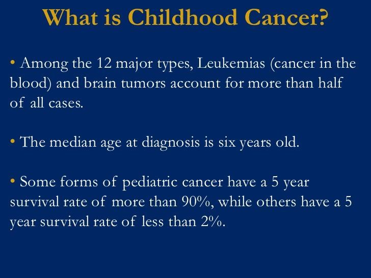 types of childhood leukemias | What is Childhood Cancer? What?• Among the 12 major types, Leukemias ...